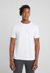 HUGO - DERO - Basic T-shirt - white - 0