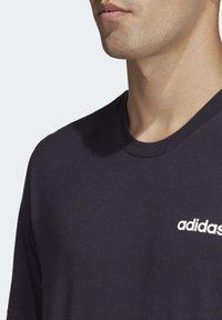 adidas Performance - ESSENTIALS PLAIN T-SHIRT - Basic T-shirt - black - 5
