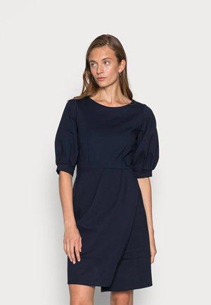 CLOSET PLEATED A LINE DRESS - Cocktail dress / Party dress - navy