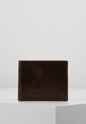 DERRICK PASSCS SET - Business card holder - dark brown