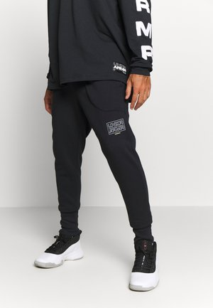 BASELINE JOGGER - Tracksuit bottoms - black/halo gray