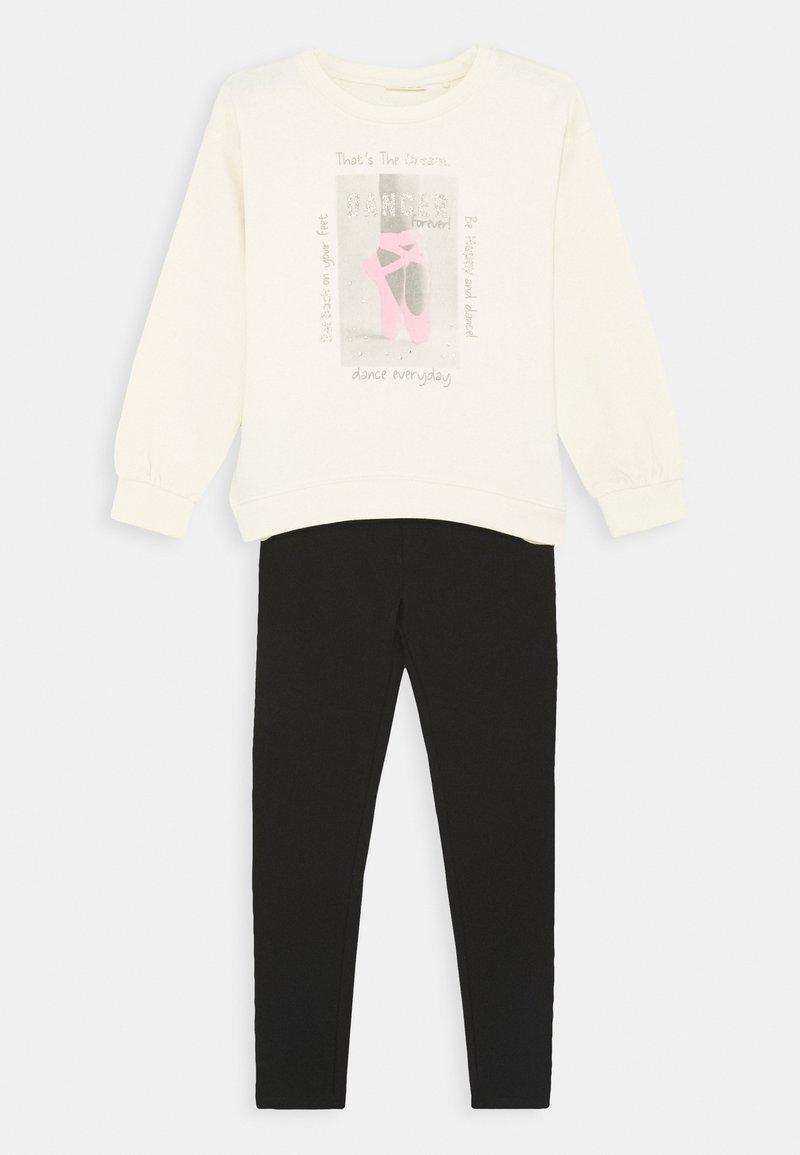 OVS - JOGGING SET - Sweater - antique white