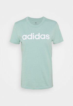 Camiseta estampada - hazy green/white