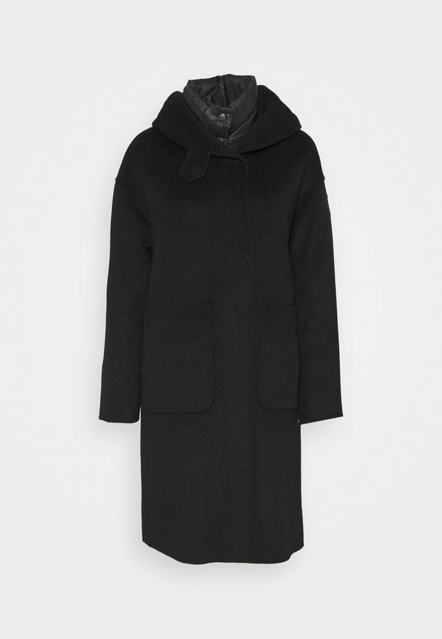 IMPERMEABILE/TRENCH LUNGHI INTERNO STACCABILE - Down coat - black