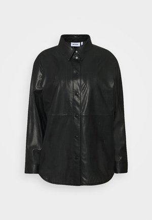 LEXI PERFORATED - Camisa - black