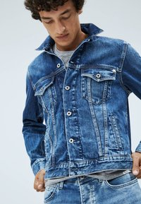 Pepe Jeans - PINNER - Denim jacket - dark blue - 3