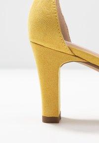 Anna Field - Sandaalit nilkkaremmillä - yellow - 2