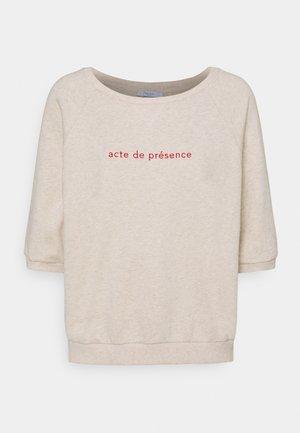 NEVA MELEE - T-shirt print - oyster melee