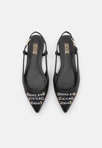 Versace Jeans Couture - Baleriny - black - 4