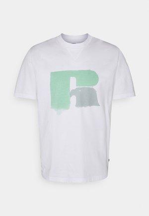 GRAHAM - Print T-shirt - white