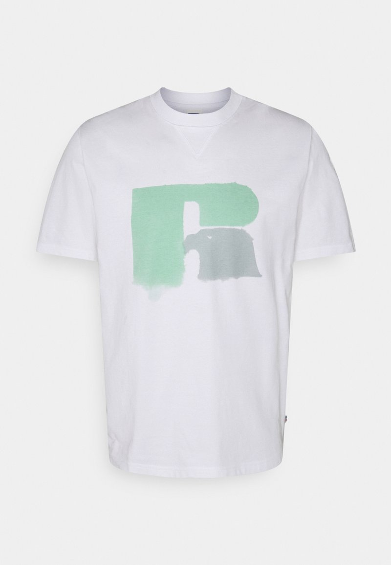 Russell Athletic Eagle R - GRAHAM - Print T-shirt - white