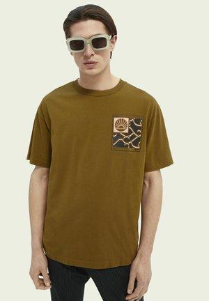 Print T-shirt - nutmeg