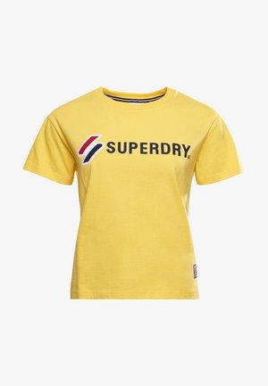 Camiseta estampada - nautical yellow