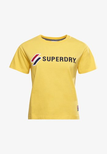T-shirt z nadrukiem - nautical yellow