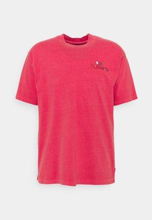 PRIDE VINTAGE FIT GRAPHIC TEE UNISEX - T-shirts print - paradise pink