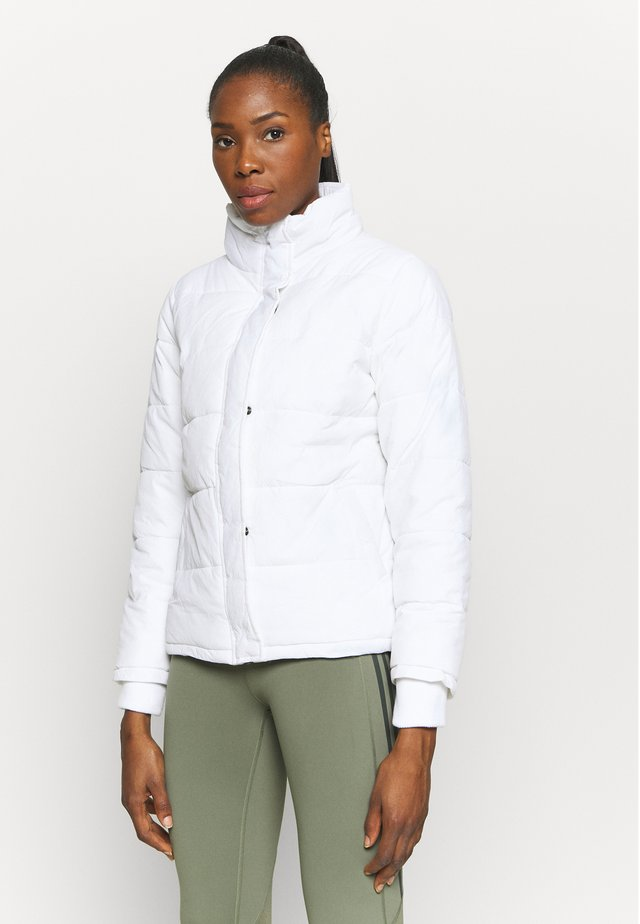 THE MOTHER PUFFER - Veste d'hiver - white