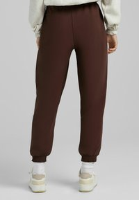 Bershka - Tracksuit bottoms - brown - 2