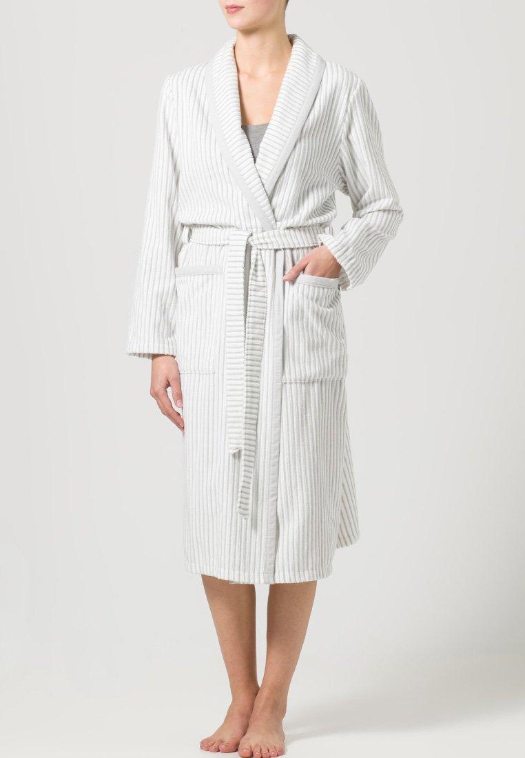 CAWÖ - CARRERA - Dressing gown - weiß/grau