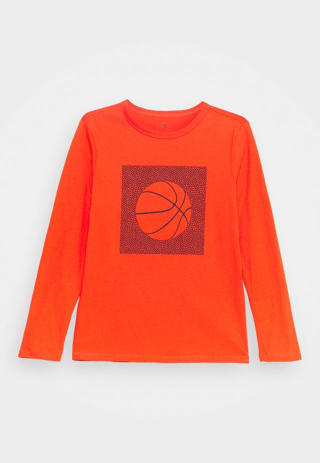 BOY GRAPHICS - Maglietta a manica lunga - orange pop