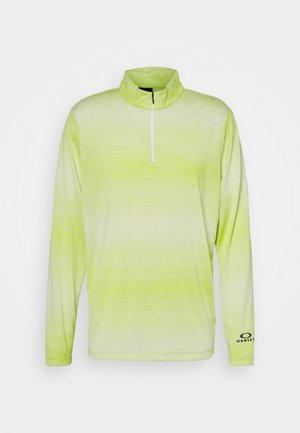 CONTENDER HALF ZIP - Sweatshirt - yellow/white