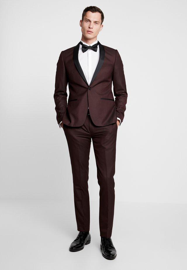 OSLO TUX SUIT - Suit - bordeaux