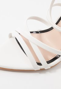 Miss Selfridge - SLOANE STRAPPY POINTED TOE  - High heeled sandals - white - 2