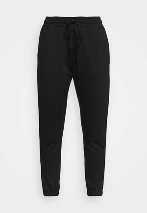 LIFESTYLE GYM TRACK PANTS - Verryttelyhousut - black