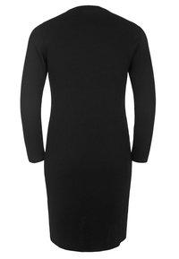 DORIS STREICH - MIT GLITZERSTREIFEN - Jersey dress - black - 1