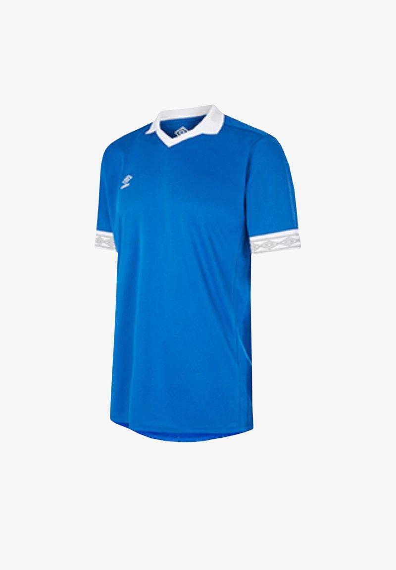 Umbro - Print T-shirt - blauweiss