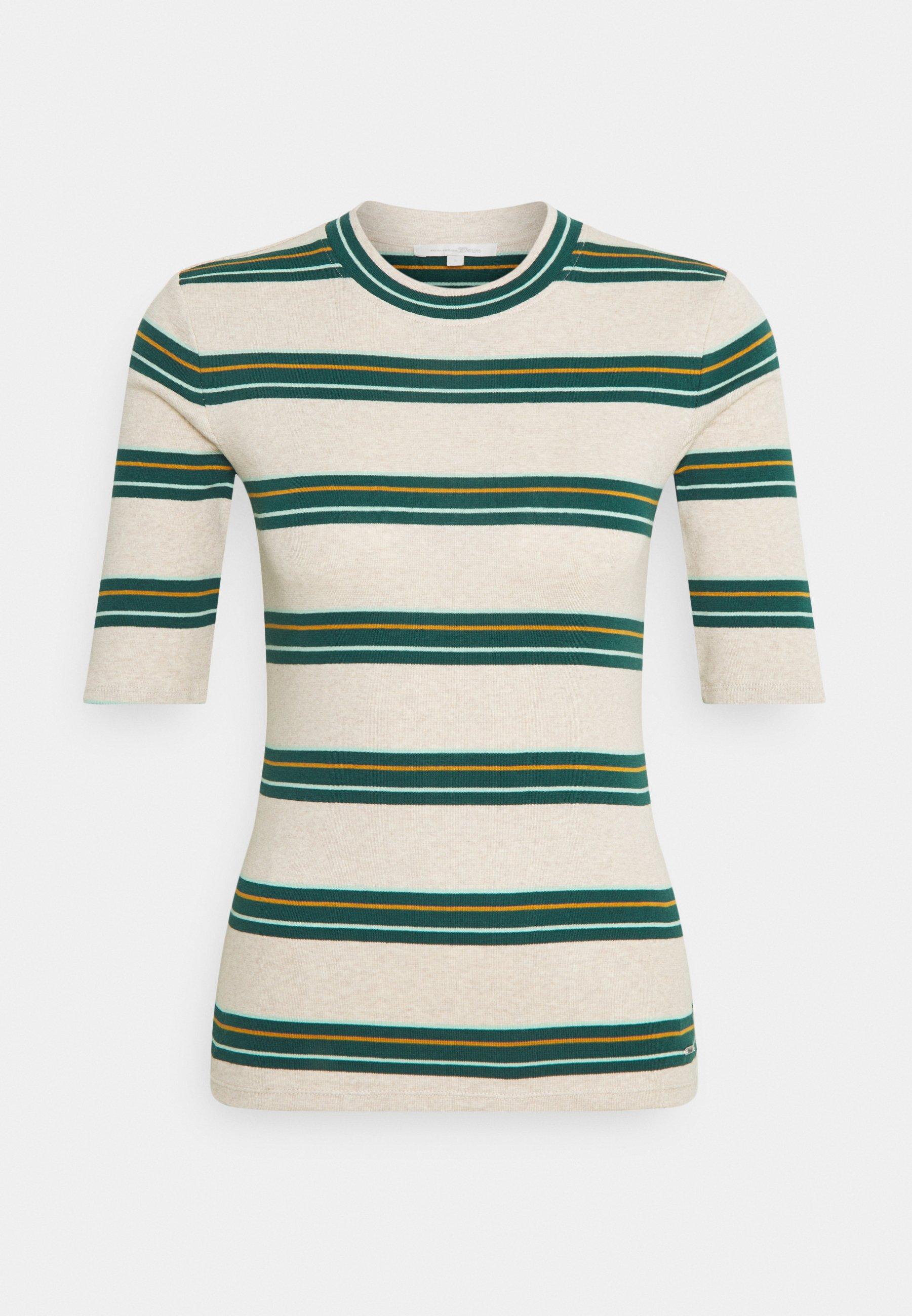 Women STRIPED TEE - Long sleeved top