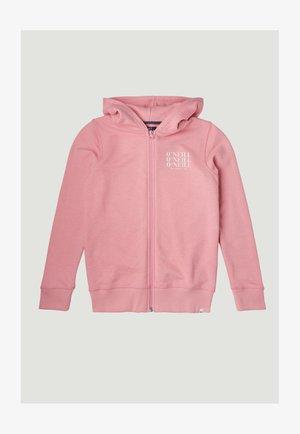 Sudadera con cremallera - sea pink