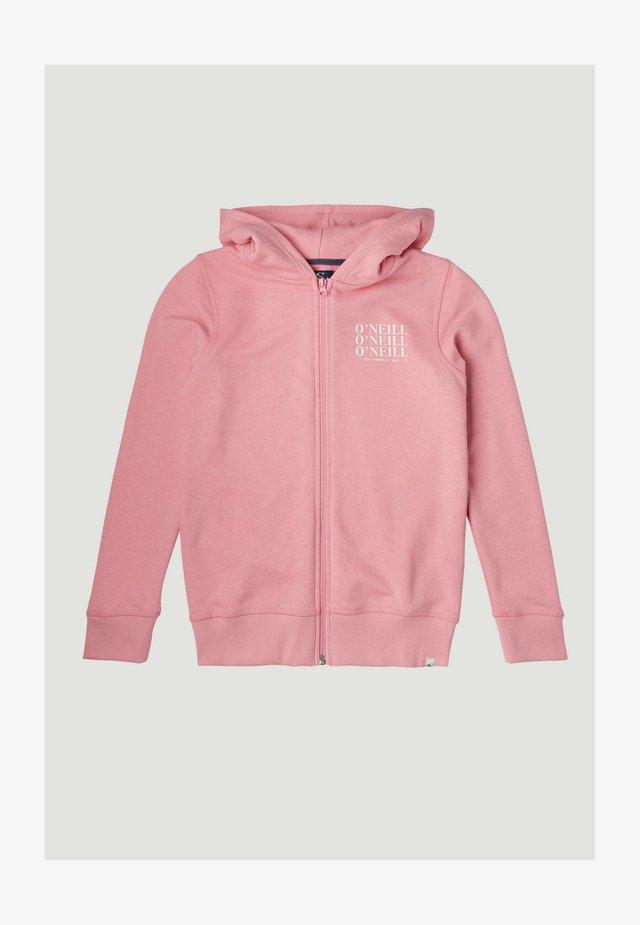 Sweatjacke - sea pink