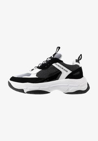 Calvin Klein Jeans - MARVIN - Trainers - white/black - 0