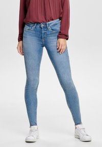 ONLY - ONLBLUSH MID ANKLE - Jeans Skinny Fit - light blue - 0