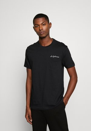 CLASSIC OLD FASHIONED TEE - Print T-shirt - faded black