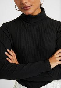 Zign Petite - Long sleeved top - black - 4
