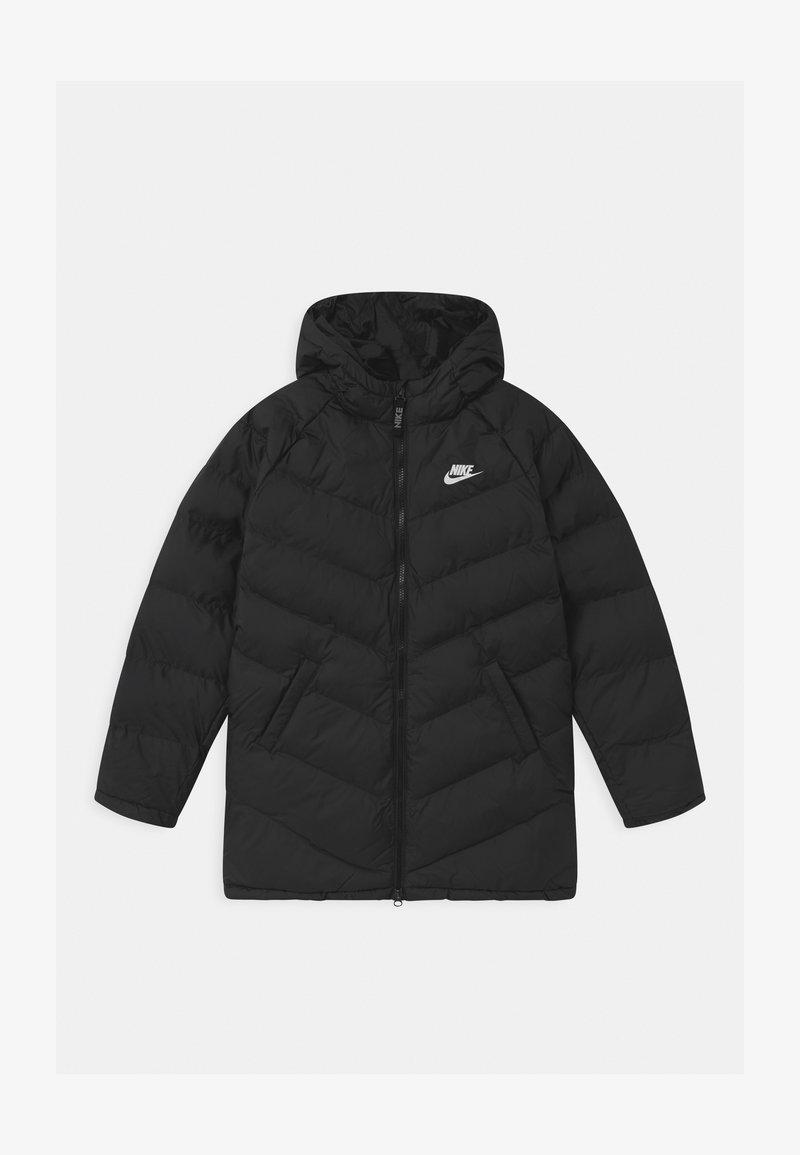 Nike Sportswear - LONG UNISEX - Winter coat - black/white