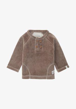 Fleece trui - cinder