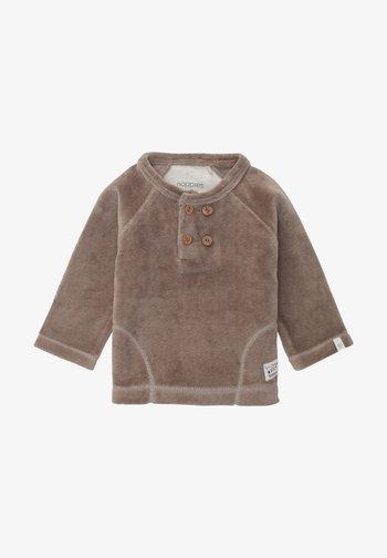 Fleece jumper - cinder