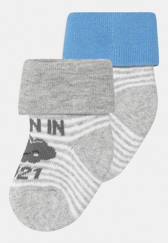 BORN IN 2021 3 PACK - Chaussettes - blue