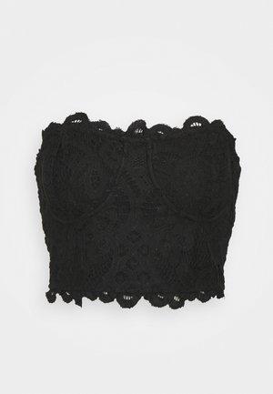 ADELLA CORSET BRA - Multiway / Strapless bra - black