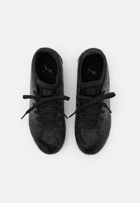 Puma - FUTURE Z 4.1 FG/AG JR UNISEX - Moulded stud football boots - black/asphalt - 3