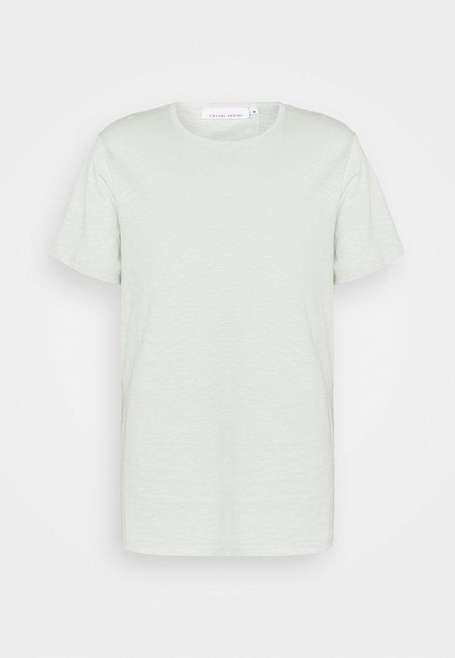 GRANT CREW NECK - T-shirt basique - smoke