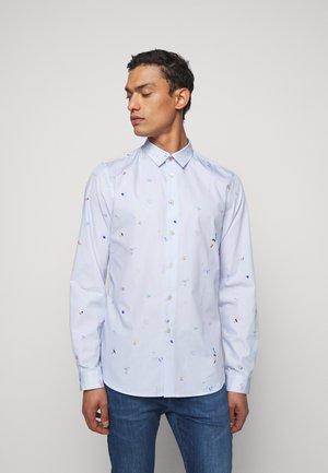 Shirt - bright blue
