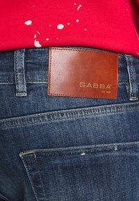Gabba - ALEX - Jeans Tapered Fit - dark blue denim - 5