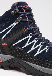 CMP - RIGEL MID TREKKING SHOE WP - Outdoorschoenen - blue/giada/peach - 6