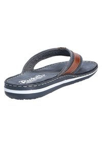 Rieker - MODISCHE PANTOLETTE - T-bar sandals - peanutnavy (24) - 3