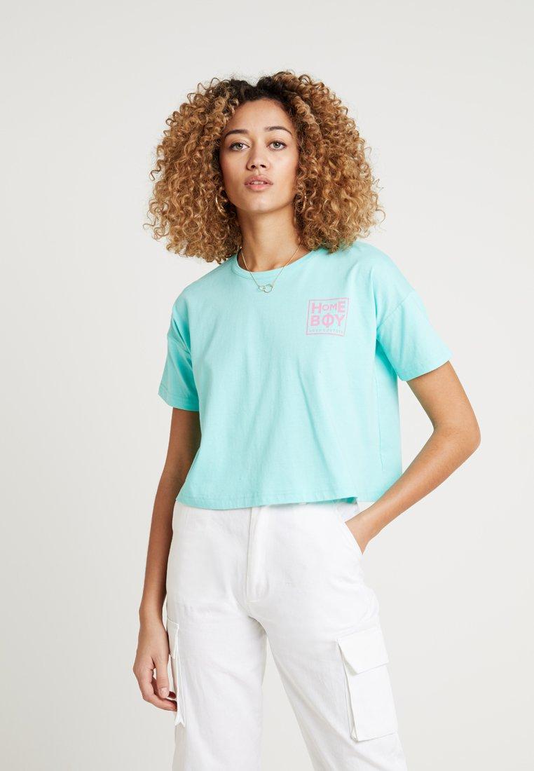 Homeboy - CATE T-SHIRT - T-shirts med print - aruba green