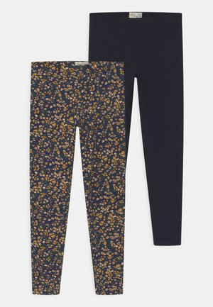 2 PACK - Leggings - Trousers - moonless night