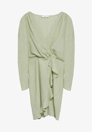 Robe fourreau - pastellgrün